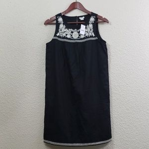 J.Crew NWT Embroidered Dress size xs